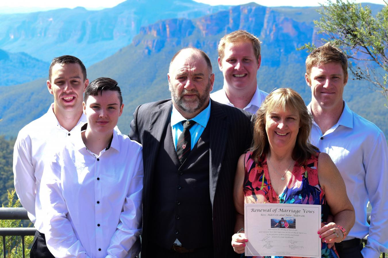 Blue Mountains Renewal of Vows