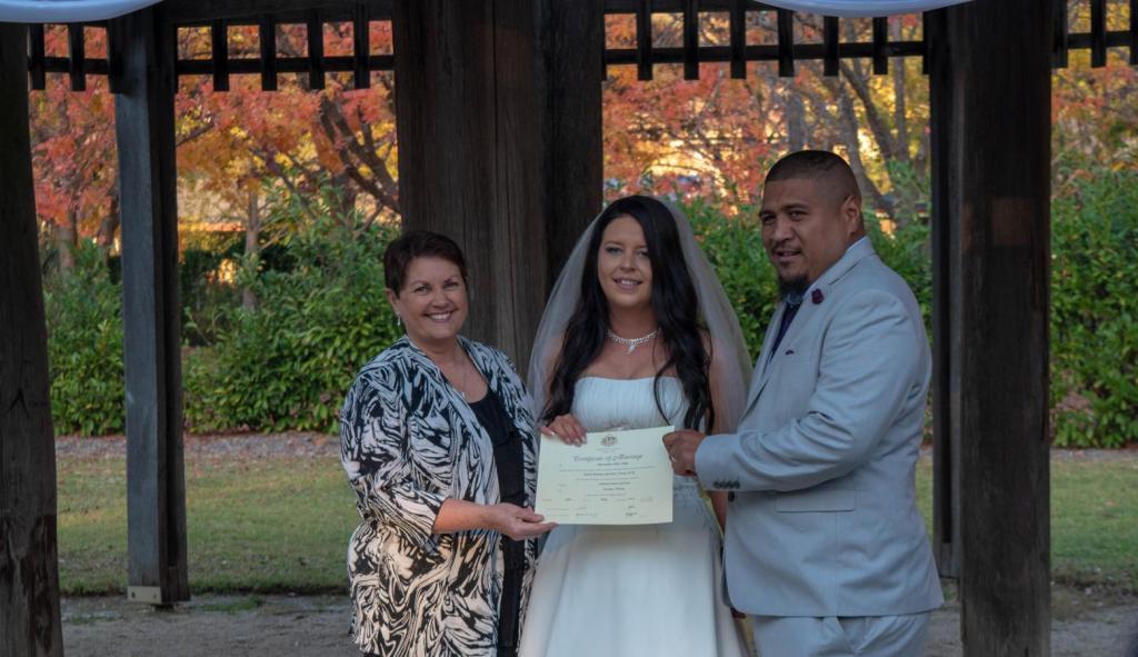 wedding celebrant springwood blaxland hazelbrook
