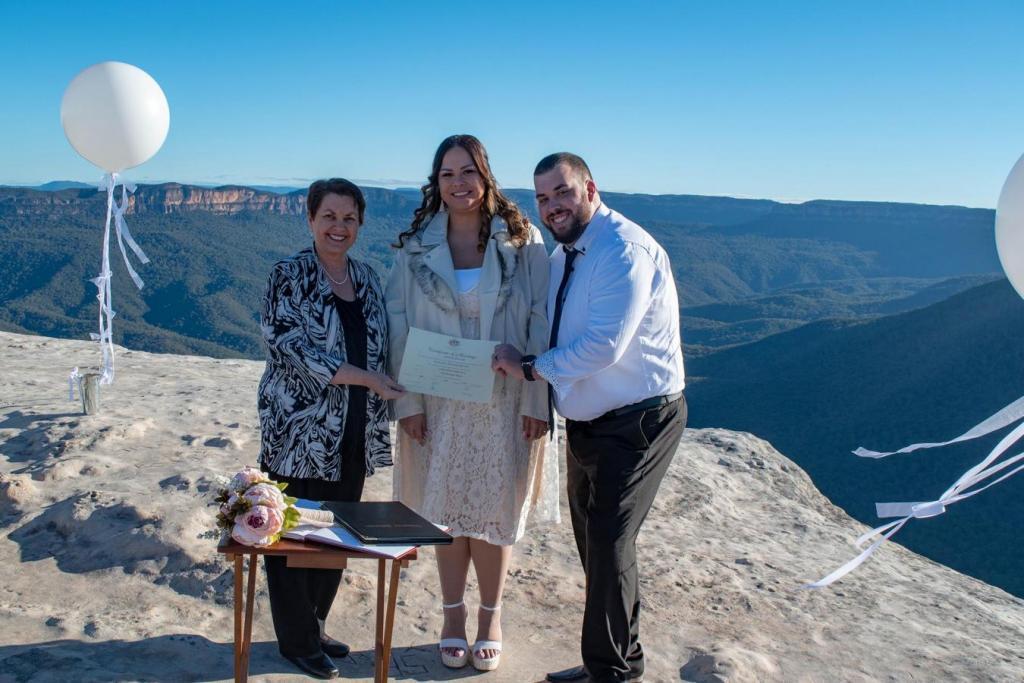 Wedding Celebrant Katoomba